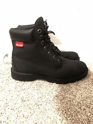 Timberland Helcor Leather Black Boots Mens 9.5 for Sale in Sterling, VA