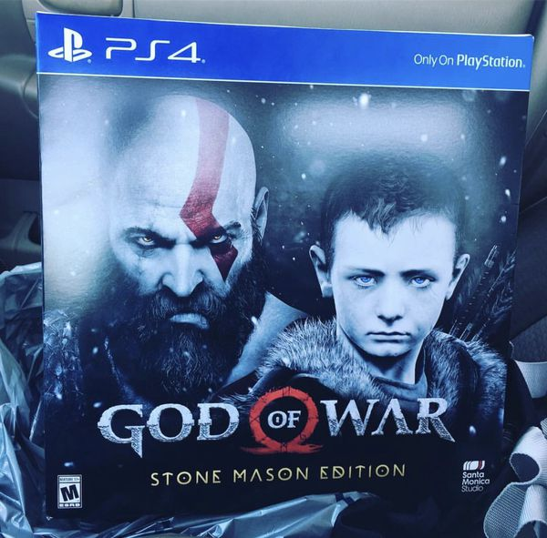 god of war edition stone mason