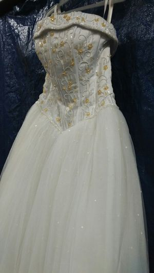 Jewel Beaded Tulle Princess Ball Gown Wedding Dress For Sale In Mount Washington KY