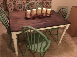 Dining Room Table 4 Chairs For Sale In Eugene OR