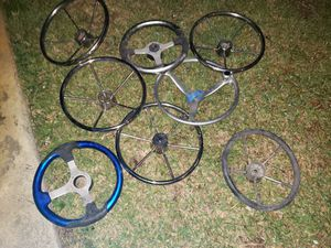 Photo Boat Steering Helm Wheels for Marine use