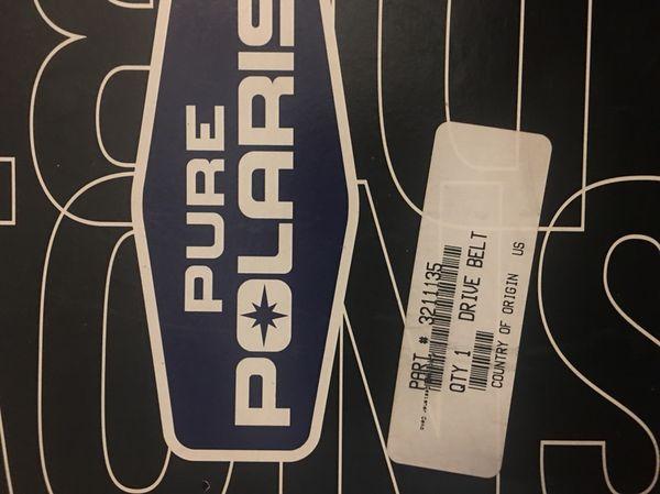 Polaris drive belt Part# 3211135 for Sale in Plant City, FL - OfferUp