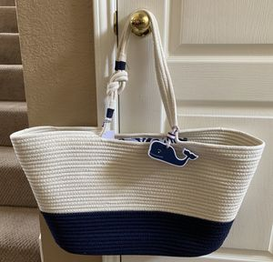 0ef32f1352c0 NWT large vineyard vines knotted rope bag SOLD OUT! for Sale in Plano, TX