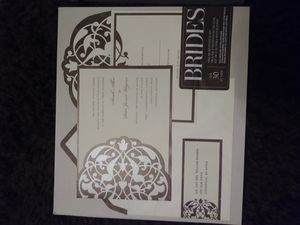 2 boxes of Brides (30) ct Invitation kit for Sale in Pevely, MO