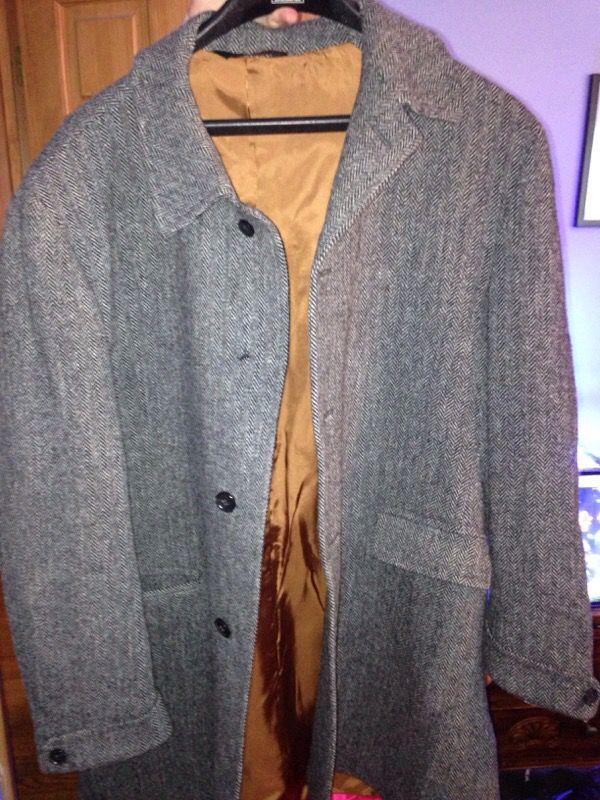 Joseph m bank men's over coat size 48R