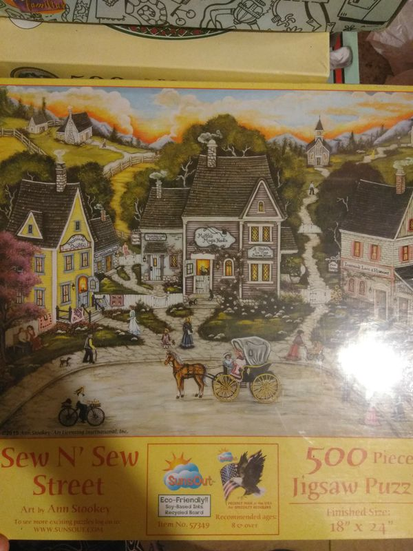 Beautiful 500 piece puzzle, new, good price, great to make  SERIOUS BUYERS  ONLY! for Sale in Palmdale, CA - OfferUp