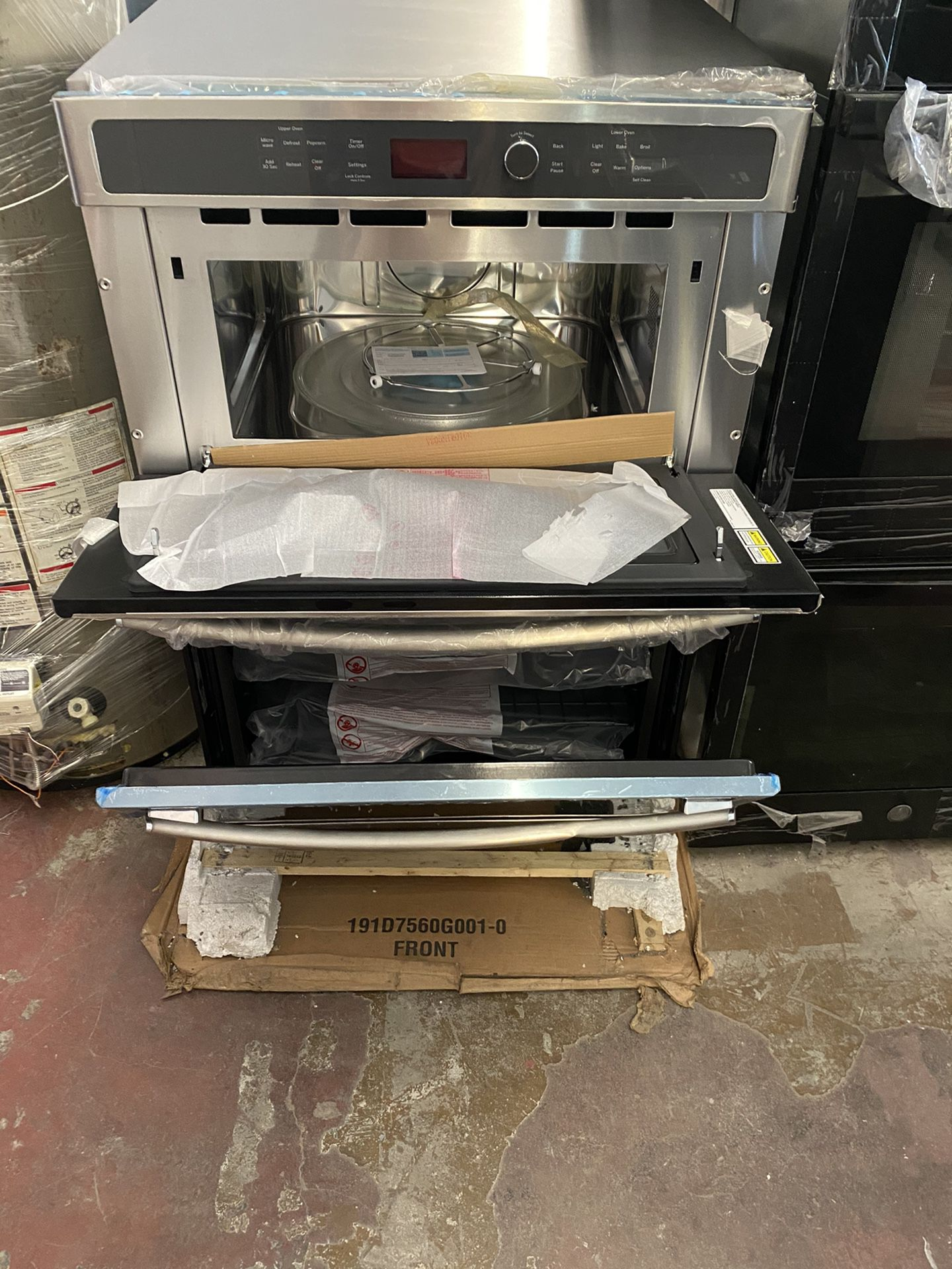 New microwave oven combo electric