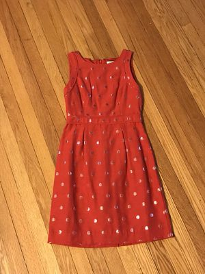 Red and Silver Polka Dot Dress for Sale in Chicago, IL