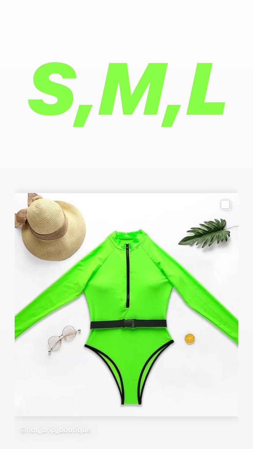 Neon Swim suit
