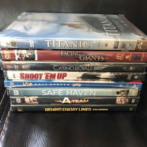 New, sealed DVDs! $18 for all. for Sale in Mason, OH