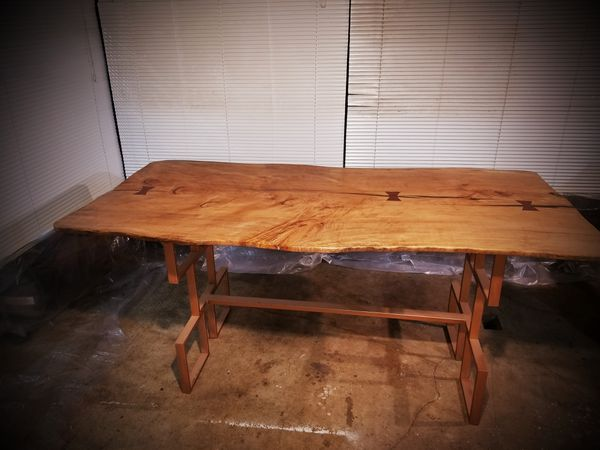 Kitchen table. Handmade. Oregon Doug Fir. Made in Oregon. One of a kind.  for Sale in Portland, OR - OfferUp