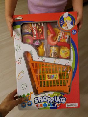 Kids toys, shopping trolley, shopping cart, food for Sale in Seattle, WA