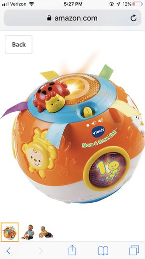 Roll and Crawl Ball - Baby Toy for Sale in Washington, DC