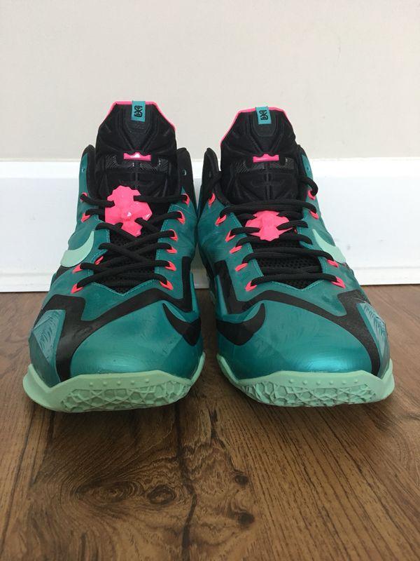 6800a3e20bab Nike Lebron 11 South Beach Size 11.5 Mens for Sale in Delray Beach ...