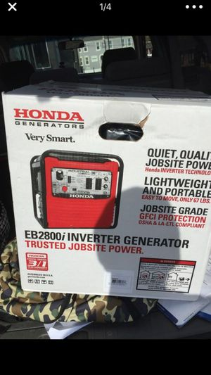 Honda VerySmart Inverted Generator EB2800i for Sale in St. Louis, MO