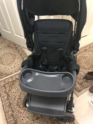 JOOVY Caboose Too Graphite Stand-On Tandem Stroller, Black for Sale in Alexandria, VA