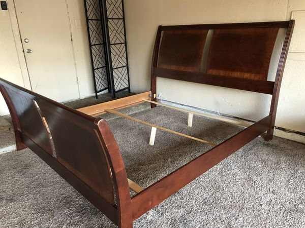 King Size Sleigh Bed Frame For Sale In Mesquite Tx Offerup