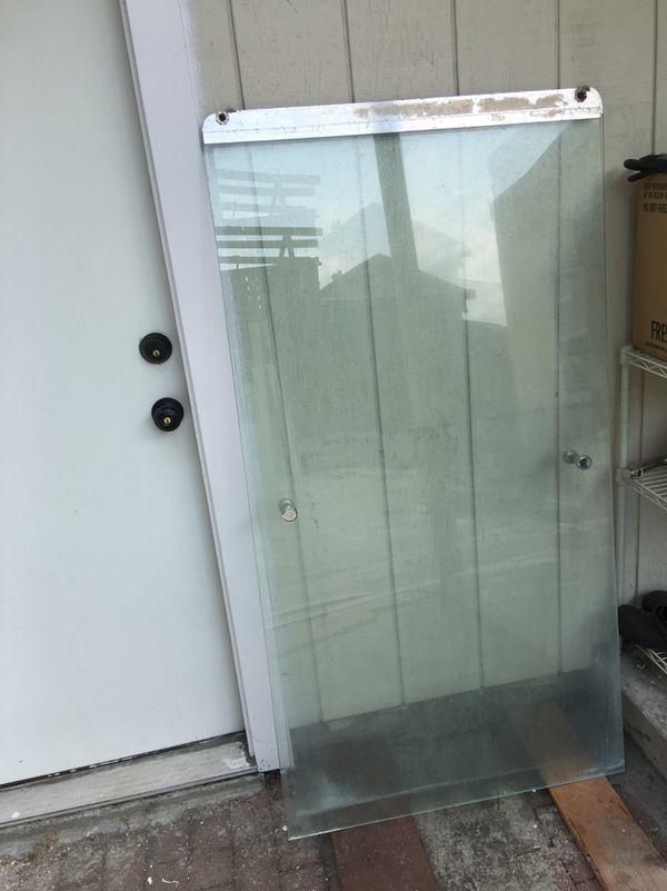 Glass framed bathtub sliding shower door . for Sale in San Leandro ...