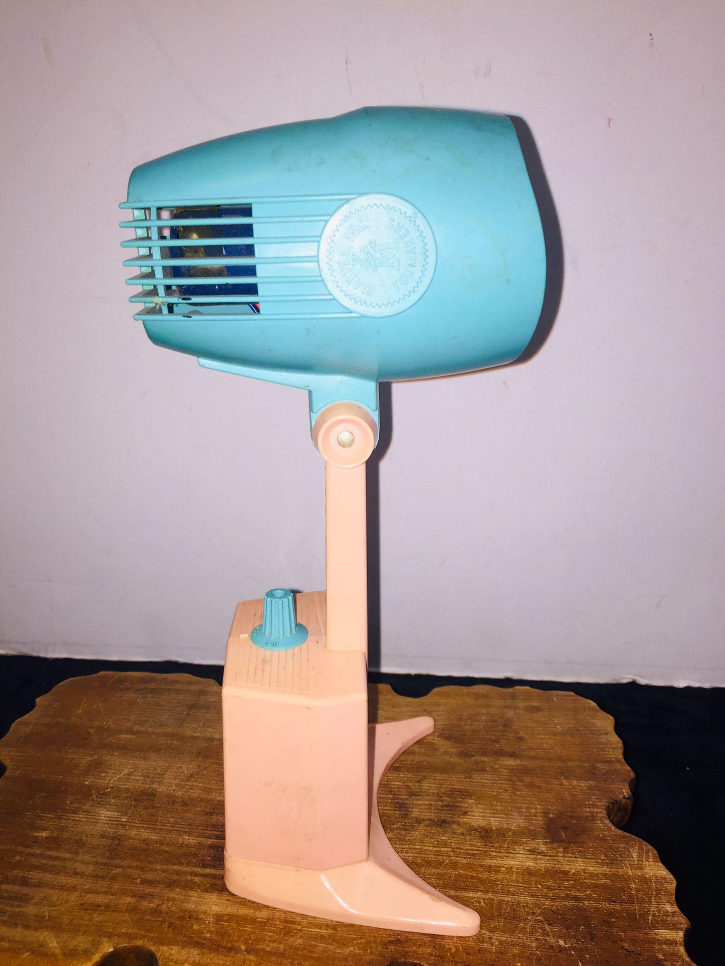 Vintage Mattel Inc. Toys Barbie Toy Hair Dryer