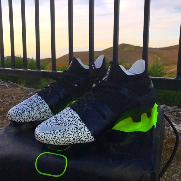 cheaper 7073f c9920 nike ACC black and volt mercurial superfly GS360 FG soccer cleats size M9.5  for Sale in Downey, CA - OfferUp
