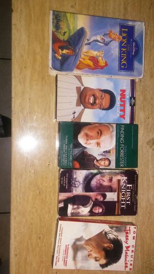 I have classic vcr tapes $15 dollars for all 5 for Sale in Tampa, FL