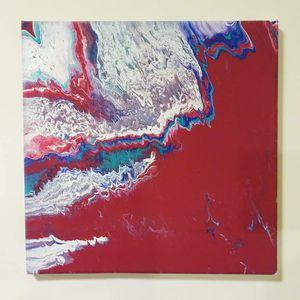Kinda Shore - 12x12 Painting for Sale in Irvington, NJ