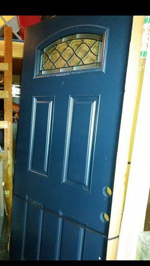 Blue fiberglass door for Sale in Orlando, FL