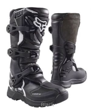 Photo Youth (size 3)- Fox Motorcross Boots