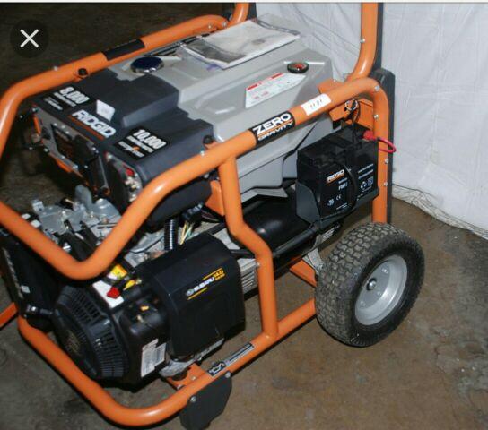Ridgid 8000 10000 Watts Generator Zero Gravity Turn Key Subaru Motor For Sale In Eatonville WA OfferUp