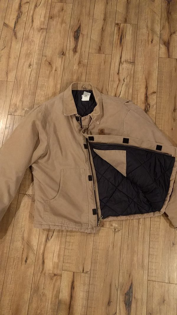 Trampki 2018 nowy wygląd fantastyczne oszczędności Carhartt J22 quilt lined jacket XL for Sale in San Diego, CA - OfferUp