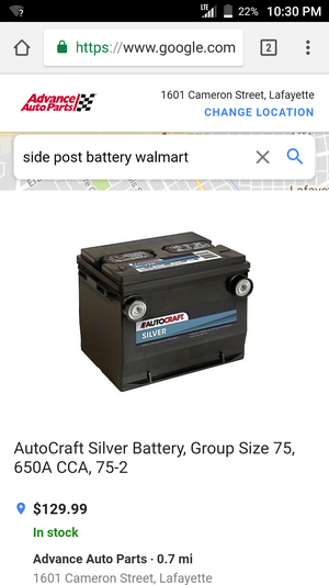 Car Battery Group Size 75