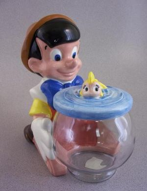 Disney Pinocchio cookie jar vintage for Sale in Falls Church, VA