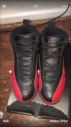 Jordan 12 flu for Sale in Silver Spring, MD