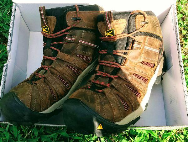 c87786f96e MEN'S KEEN UTILITY FLINT MID STEEL TOE WORK BOOTS. for Sale in High ...