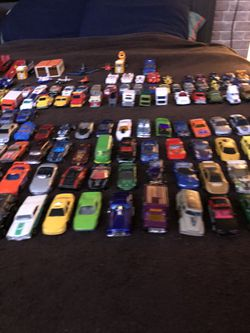 Toy cars, planes, trucks Thumbnail