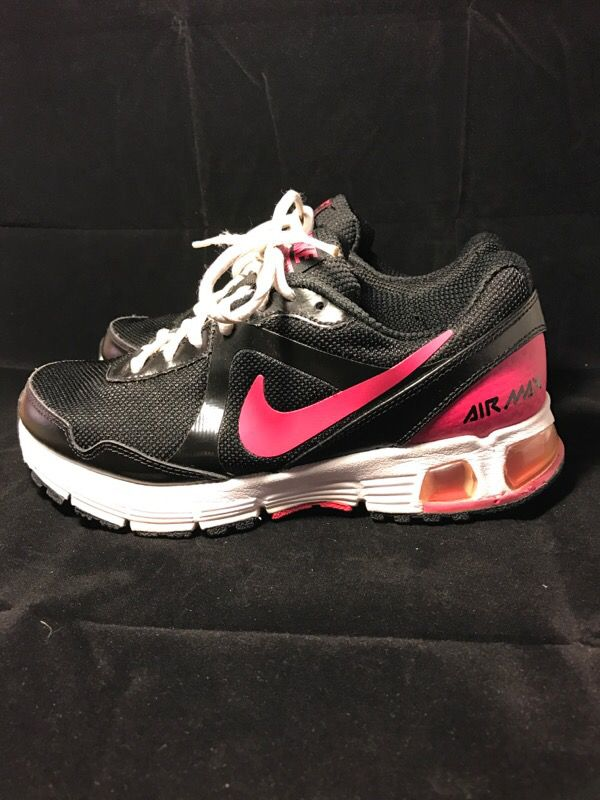 online store d037c a6931 Black Pink Nike Air Max Size 6.5 386515-061
