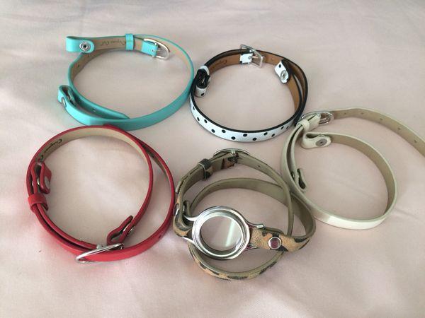 Origami Owl Jewelry   Leather Wrap Bracelet   Poshmark   450x600