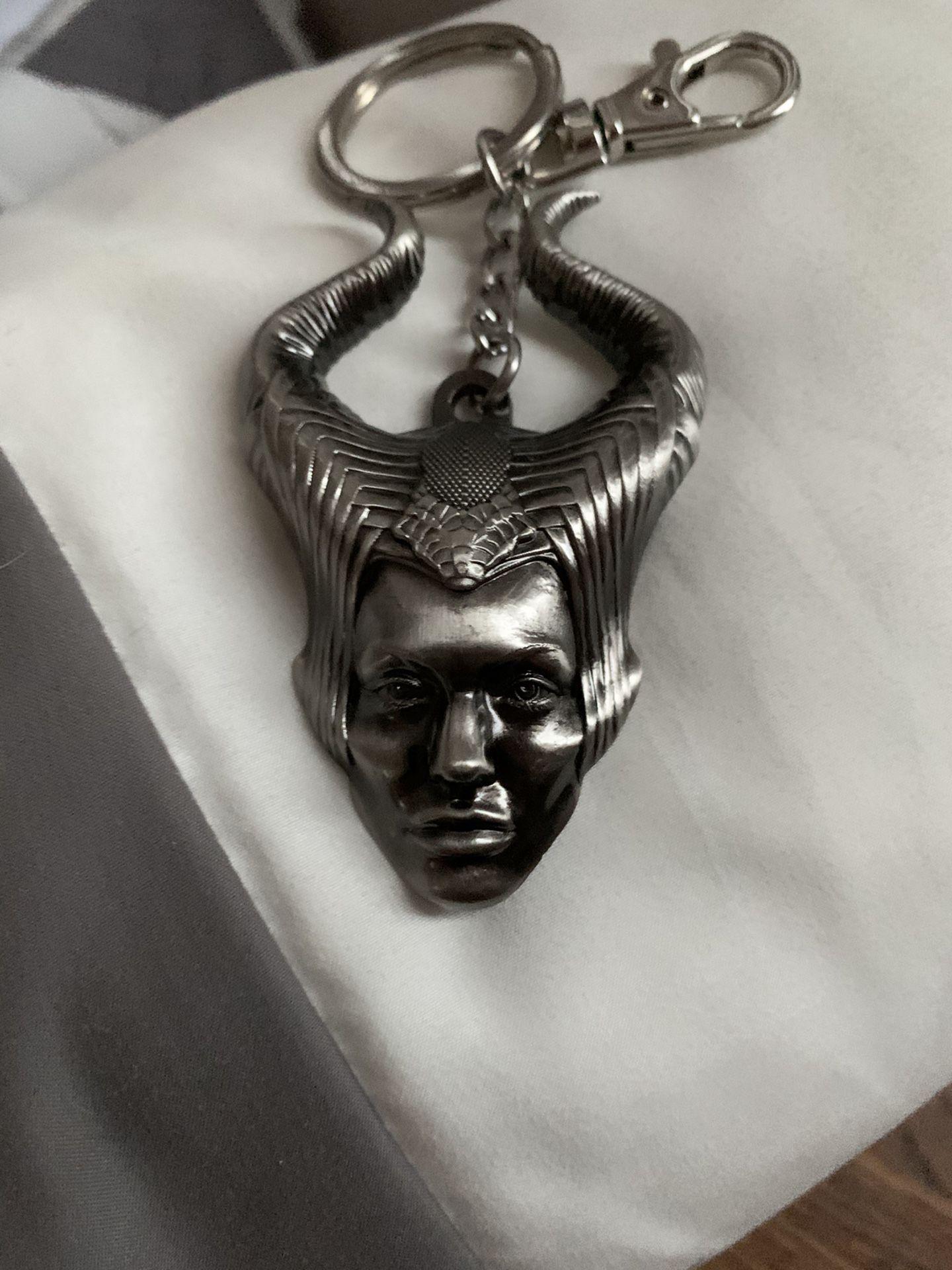 Disney's,Malificent ,key chain,or purse fob