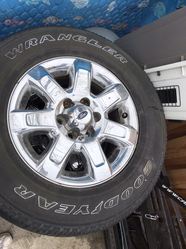 P275 65r18 Tires >> Goodyear Wrangler Tires P275 65r18 114t With 18 Wheels For Sale In
