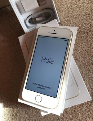 Apple iPhone SE Smartphone GSM Unlocked Gold 128gb for Sale in Gaithersburg, MD