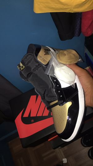 "Jordan 1 Retro ""Patent Gold Toe"" for Sale in Boston, MA"