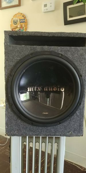 """MTX. AUDIO 15"""" tr 55 SUBWOOFER for Sale in Silver Spring, MD"""