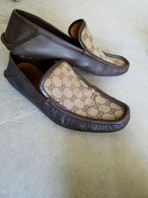 f250af78f Brown Leather Gucci Loafers Size 9 for Sale in Frisco