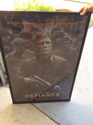 Defiance movie poster for Sale in Orlando, FL