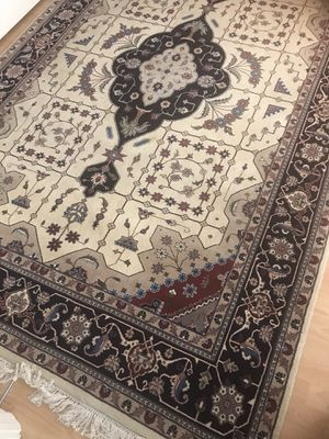 Cream colored Oriental Area Rug for Sale in Chevy Chase, MD