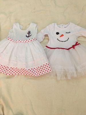 Photo Girl toddler 2 dresses 6-9 months