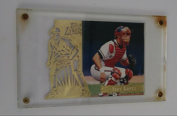Topps Lazer Trading Card For Javy Lopez For Sale In Naples Fl Offerup