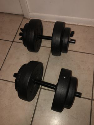 20 pounds dumbbell set for Sale in Orlando, FL