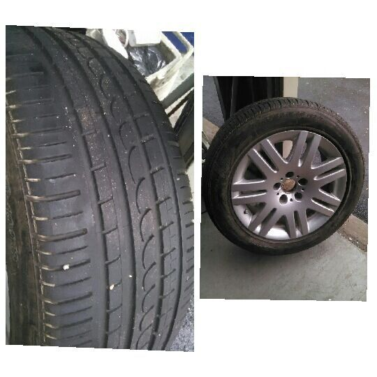 LIKE NEW TIRE 245/50R 18