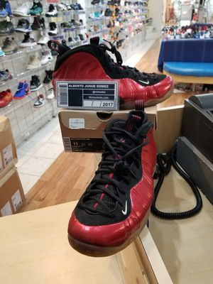 Nike Air Foamposite One Metallic Red Size 11 for Sale in Silver Spring, MD